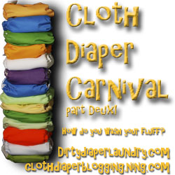 cloth diaper carnival, how do you wash cloth diapers, dirty diaper laundry